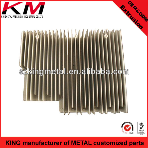 networking switches extrusion aluminum radiator extruded heat sinks