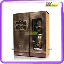 Luxury Custom Transparent Special Paper Gift Packing Wine Box