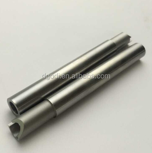 harden steel hollow shaft for stepper motor, input and output shaft