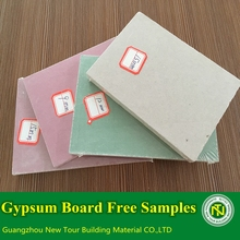 Glass fiber reinforced gypsum board
