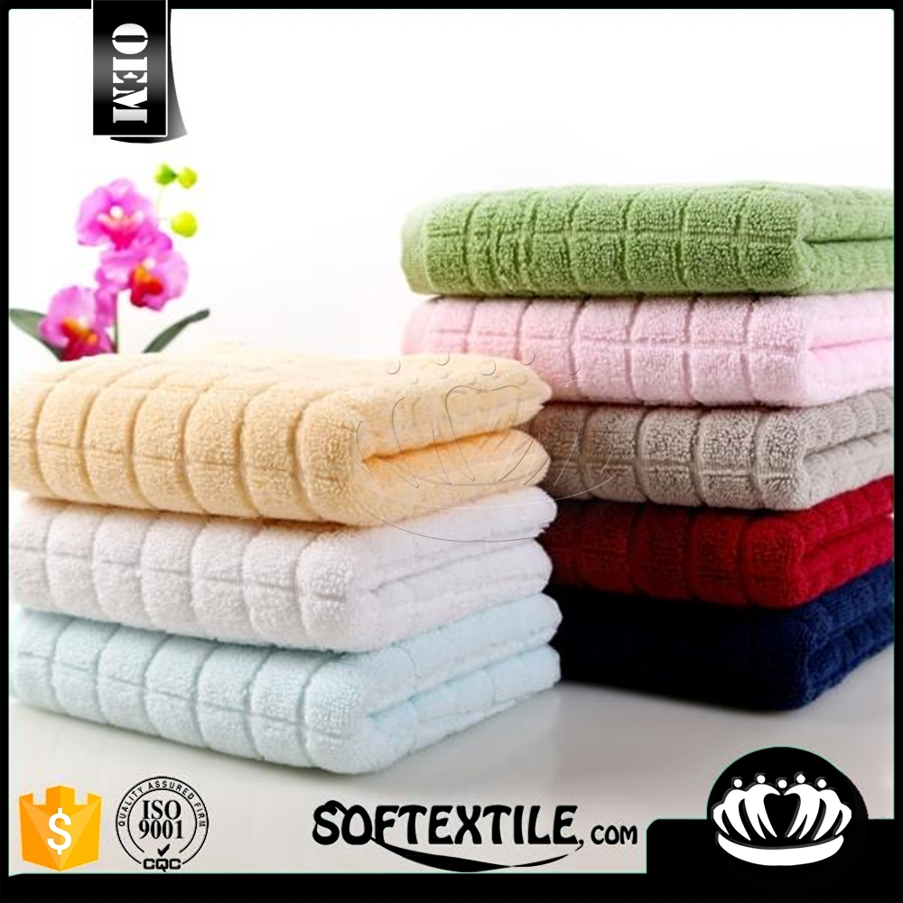 luxuriousl 100 cotton velvet double embroidered forging gear face towels