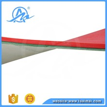 Red Rubber Coated Pu corrugator conveyor belt