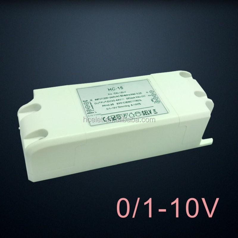 saa approved 280ma 0-10v dimmable led driver