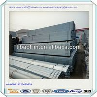 Galvanized Square Pipe for windows or door support framein Chna