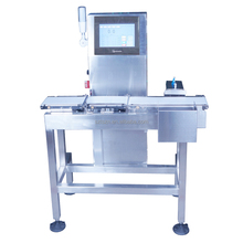 High Speed Facemask Check Weigher Dynamic Online Weight Checking Equipment Automatic Weighing Scale for Bags