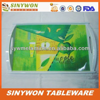 New Design Printed Melamine Decorative Party Tray