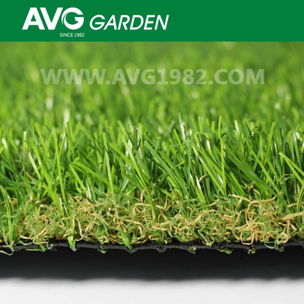 2015 AVG hotsale soft feeling natural looking artificial grass for garden
