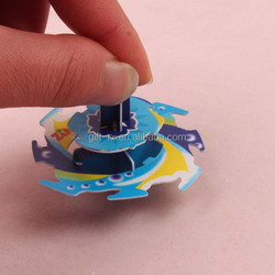 3D PP/PE plastic puzzle/spinning top 3d toy