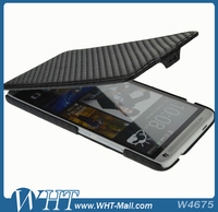 High Quality Cell Phone Accessories for HTC One Max T6 Case, Carbon Fiber Case for HTC One