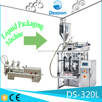DS-320L Stainless steel vertical fruit juice packing machine +8613336409700