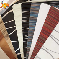 PVC high gloss decorative film for door
