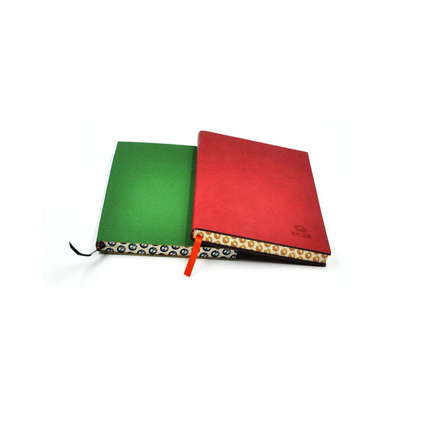 2017 pu leather softcover sewn diary/notebook with perfect binding,elegant sewn binding notebook