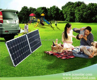 Solar Energy 120W Folding Foldable Solar Panel Complete Kit for Adventure,Car,RV