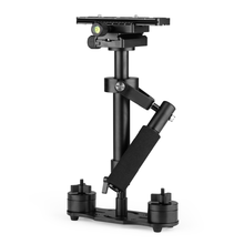 S60 60cm 2.5KG load bearing flexible 3 axis gimbbal stabilizer for DV, digital camera or dslr camera