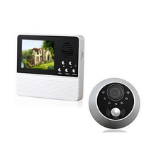 "Hot Sale 3.2"" Digital Video Wireless Door Peephole HD Colorful Screen Door viewer Camera"