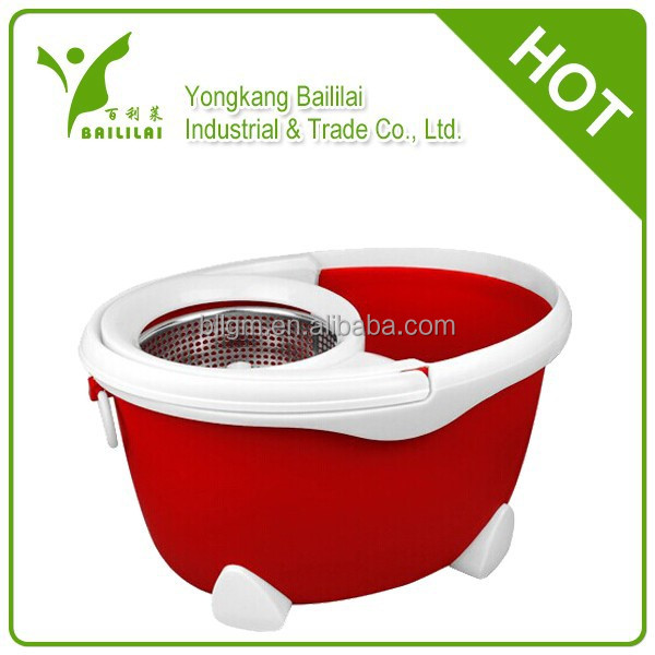 BAILIALI cleaning sweeper 360 degree rotating mop bucket