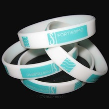 cheap selling customized printed silicone rubber bands