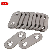 Customized Stainless Steel Flat Corner Brace Brackets Mending Plates Repair Fixing Joining