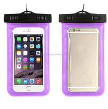 Waterproof Diving Bag Mobile Phones Underwater Pouch Case For iphone 4s 5 5s 6 6s plus samsung galaxy s4 s5 s6 s7 Note 2 3 4 5
