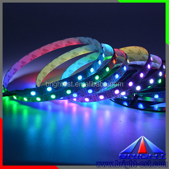 5M 5V 60Led/M 300LEDs programmable WS2812B RGB 5050 LED strip Digital Individually addressable magic