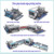 JFD-20 horizontal Glass straight line double edging machine with 20 motors and CE certification for sale