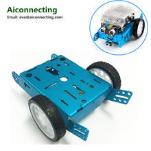 2wd accessories kids mini educational robot kit aluminum chassis