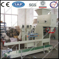 Vertical automatic counting weight pellet packaging machine