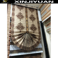 New design Pleated Blinds Circular sectors roller shutters jacquard fabric wholesale roller shutters roller shutters