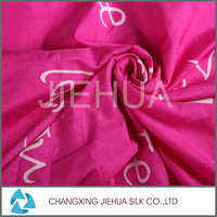 Red colour digital printing fabric for polyester bed sheet with high quality