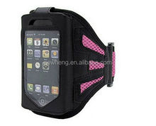 Soft Mesh Cloth Gym Sport Armband Case for iPhone 5