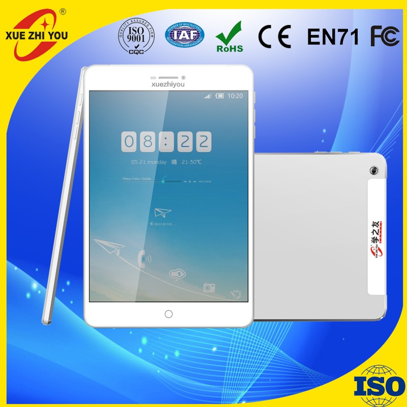 3G tablets MTK8382 quad Core WCDMA 7.85 Inch 1024*768 Phone Tablet PC