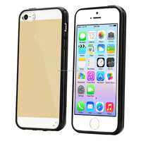 TPU bumper PC back mobile phone case for iphone5s