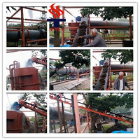 1800X20000mm Sugarcane Bagasse Rotary Dryer Sold to Kenya