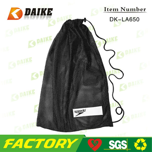 Promo Mesh sports drawstring backpacks DK-LA650