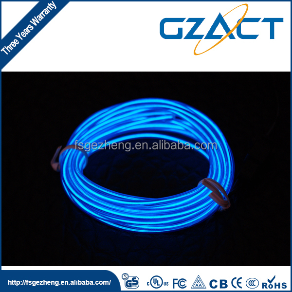 Cheap 3.2mm rgb el flexible wire for Christmas party