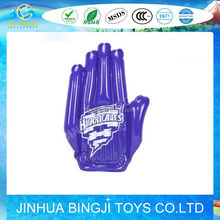 Custom PVC giant inflatable hand with logo printing