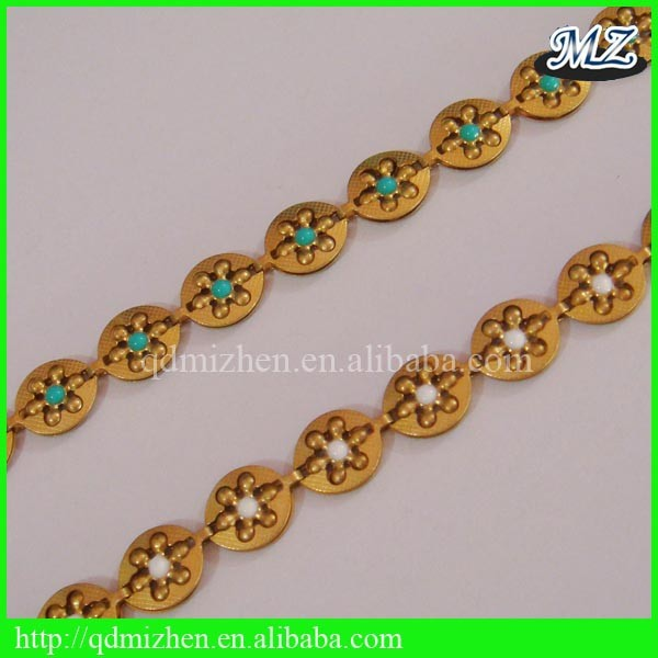 raw brass chain for jewelry making