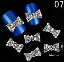 2016 New fashion butterfly opoola nail art decoration 3D nail art metal stud