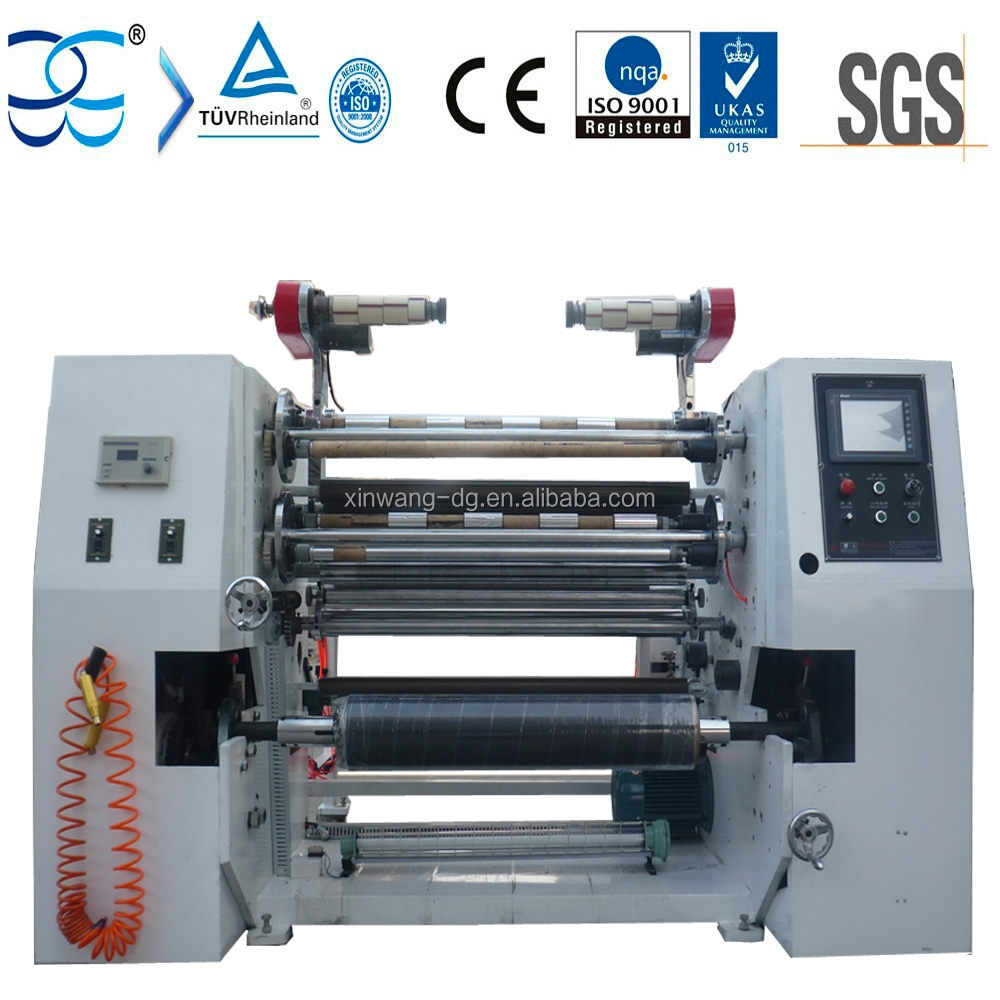 Automatic TTR Slitting Machine (Thermal Transfer Ribbon)