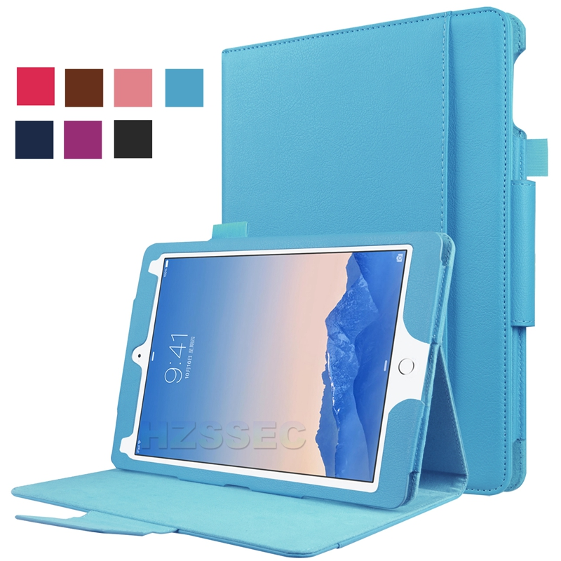 PU Leather Tablet Cover for iPad Pro 9.7 Casual Flip Protective PC case with keyboard Location for ipad pro 9.7