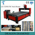 High Speed 4 Axis CNC Router Carving Machine With Rotary Spindle LZ-1325R