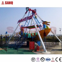 Alibaba China New Product Viking Boat For Kids/Low Price Amusement Viking Boat Rides For Selling