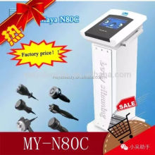 Fast slim! MY-N80C 6 in 1 ultrasonic fat burning slimming cellulite
