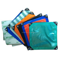 Uv Waterproof Laminated Woven Fabric , Poly Tarps, PE Tarpaulin/Bache, Truck Cover, Awing,Tent