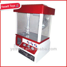 Hot sale B/O candy grabber machine with music