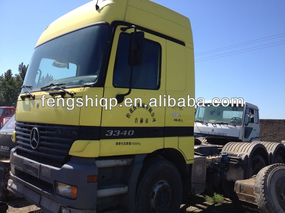 Heavy Duty complete used actors truck for 3340