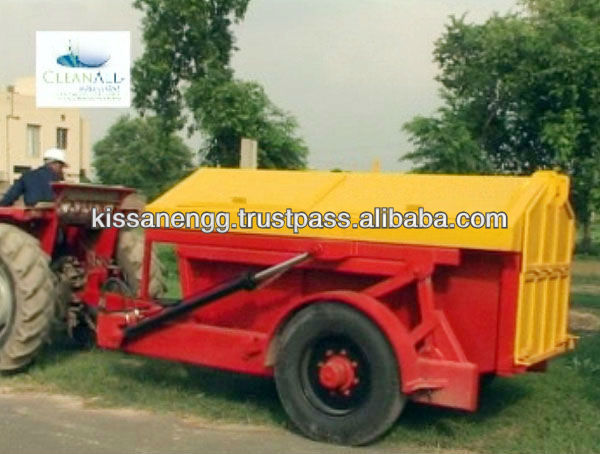 Tractor Towed Automatic Garbage Disposal Unit