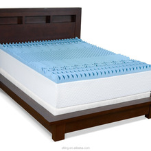7 Zones Sculpted Gel Infused Cooling Blue Visco Elastic Memory Foam Gel Mattress Topper King/Queen Double Size