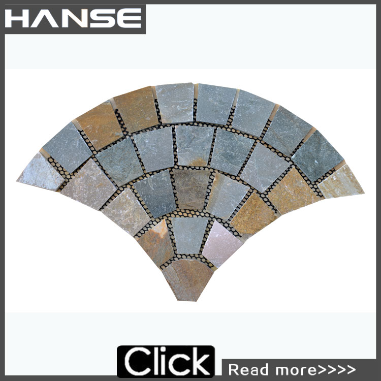 HS-WT121 outdoor stone floor tiles/ natural stone tiles/ flagstone mats