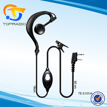 Topradio Cheap Two Way Radio Earphone For Weierwei VEV-V3 VEV-V2 VEV-V1100 VEV-V1000 VEV-V3188D VEV-V3188 VEV-V338 VEV-V528S